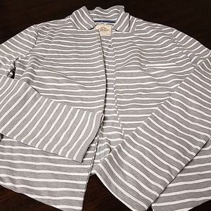 Woman's striped jacket/cardigan